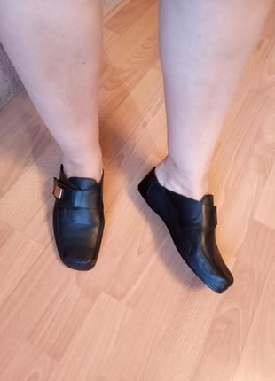 Германия,новые!нереально красивые,кожаные шлепанцы,сабо,сандалии,шлепки,босоножки