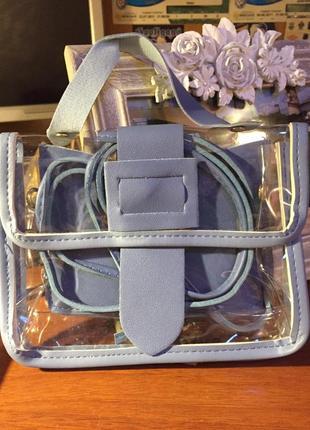 Прозрачная милая сумочка