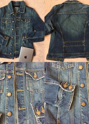 Крута джинсова курточка