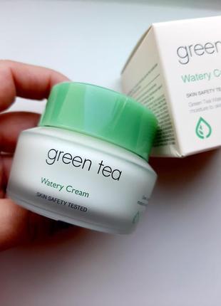 Увлажняющий крем с зеленым чаем it's skin green tea watery cream, 50 мл