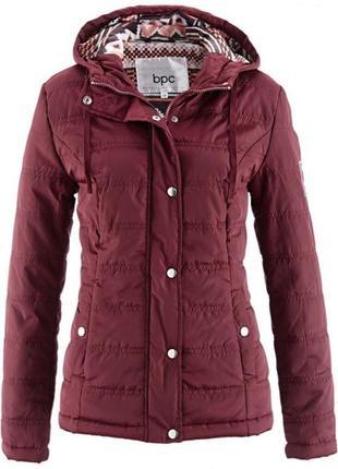Стеганая куртка с капюшоном bpc collection