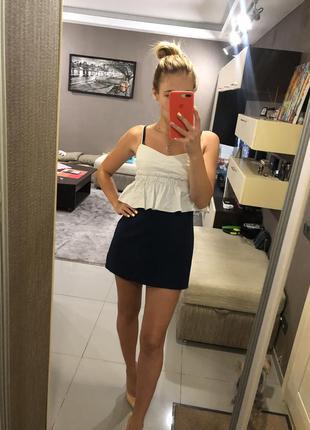 Комбинезон ромпер юбка-шорты zara
