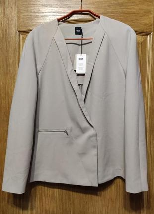 Asos стильный серый пиджак, жакет