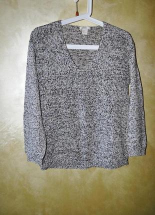 Актуальный меланжевый свитер h&m