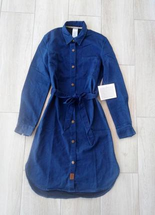 Плаття платье джинсовая рубашка