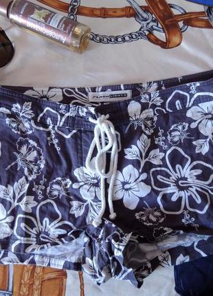Хлопковые летние шорты