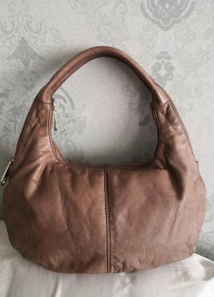 Красивая кожаная сумка hugo boss оригинал номерная👜👜👜🔥☀️🐥