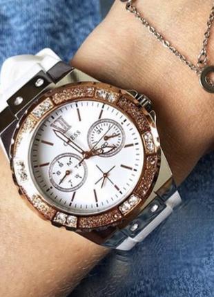 Guess часы w1053l2 из коллекции jennifer lopez for guess
