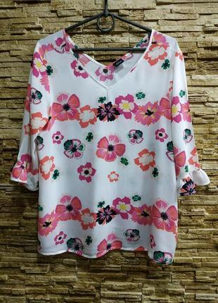 Красивая штапельная блузка