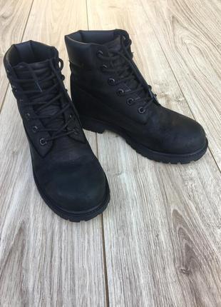 Стильные актуальные ботинки timberland тренд деми осень весна зима
