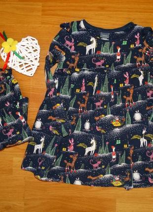 Классные новогодние платья от некст