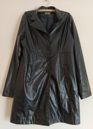 Пальто-плащ yes or no кожзам