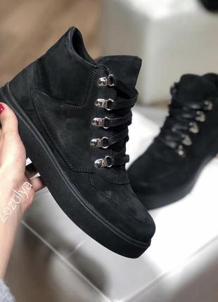 Ботинки/кроссовки, замша, 39 размер