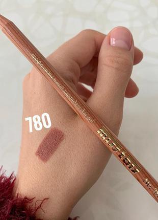Карандаш miss tais №780 для губ мисс таис розово-пастельный чехия матовый