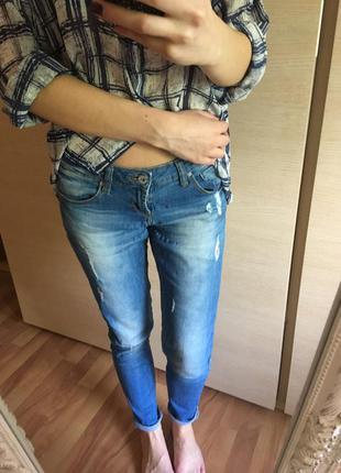Отличные джинсы crop town
