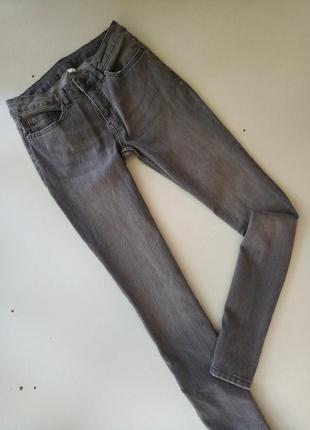 Стрейчевие димчатие джинси от немецкого бренда, 36