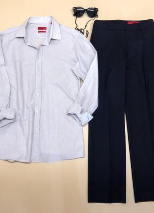 """Брендовая рубашка """"с мужского плеча""""."""