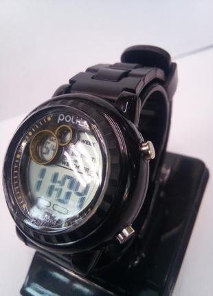 Детские влагозащищенные электронные часы polit 697
