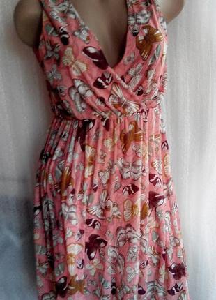 Платье бабочки h&m