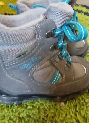 Ботинки осінь термо