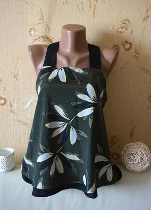 Новая фирменная изумительная блуза в цветы