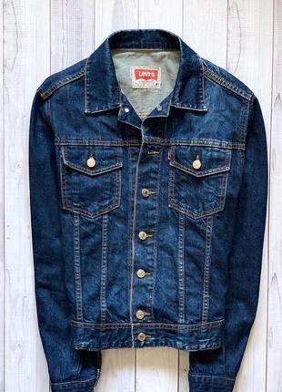 Женская джинсовая куртка levi's оригинал джинсовка оверсайз ливайс