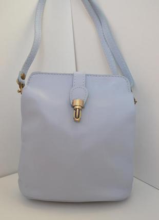 Маленькие кожаные сумки кроссбоди miko, италия.