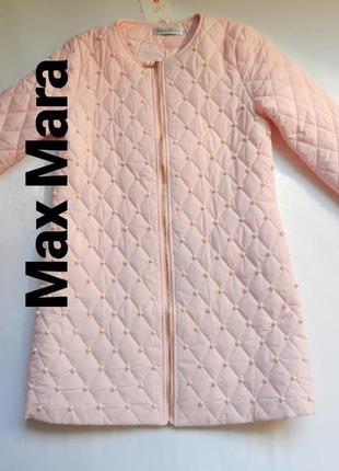 Тонкое пальто с жемчугом разные размеры и цвета