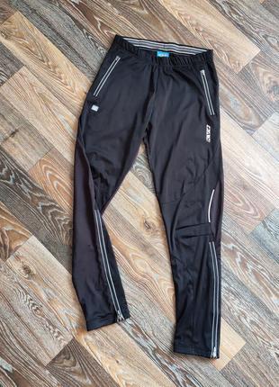 Тренировочные брюки для умеренно холодной погоды с ветрозащитой kv+ горнолыжные