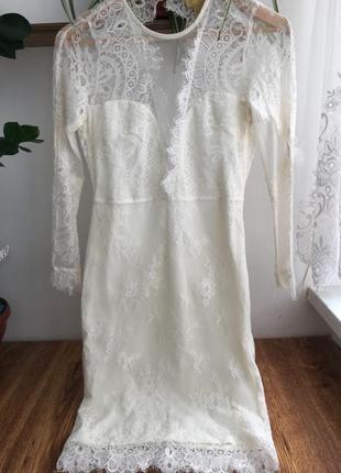 Плаття ажурне з відкритою спинкою
