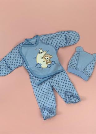 Комплект для новорожденных на выписку из роддома
