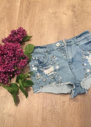Крутые короткие шорты
