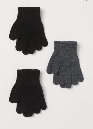 Новые перчатки h&m 8- 14