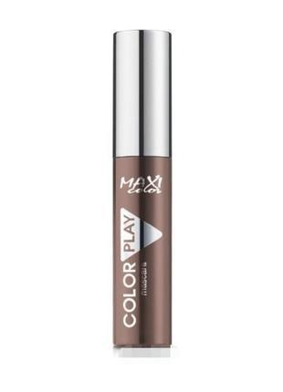 Тушь maxi color color play mascara ( коричневая)