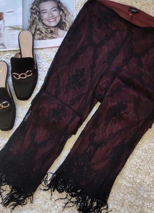 Ажурные брюки шерсть!!