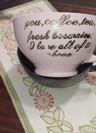 Красивые подарочные чашки