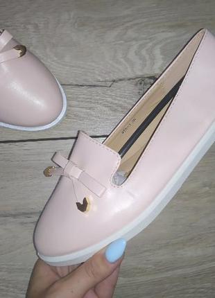 Мягкие туфли 🌿 легкие лоферы балетки
