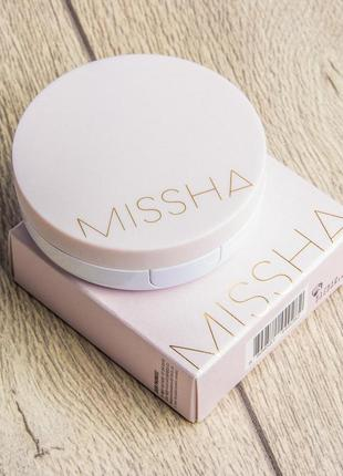 Кушон missha magic cushion cover lasting spf50/pa тон 21
