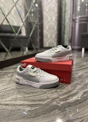 Кроссовки puma cali grey