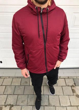 Мужская куртка (на овчине)
