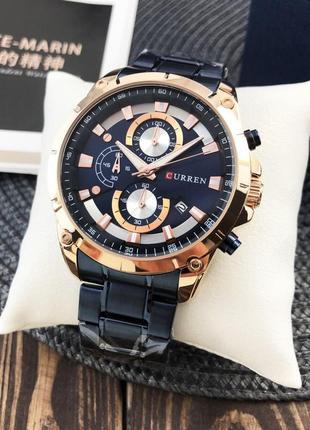 Мужские часы blue-gold