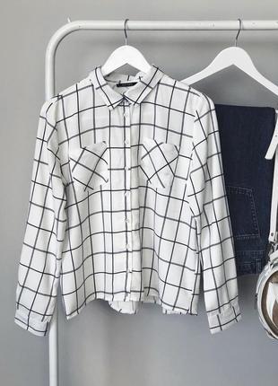 Классная рубашка в клетку