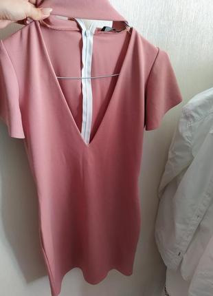 Платье с чекером