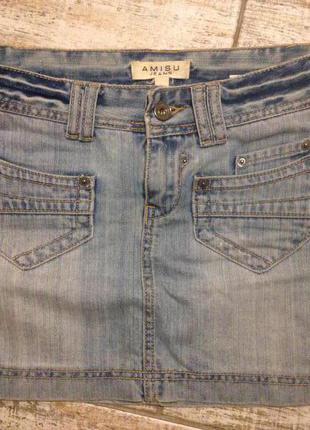 Распродажа#джинсовая юбка#короткая юбка#мини юбка#