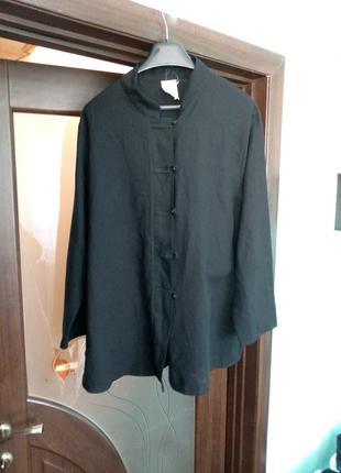 Чорний стильний  піджак