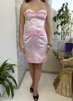 Вечернее выпускное платье oksana mukha