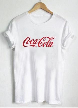 Женская футболка coca cola