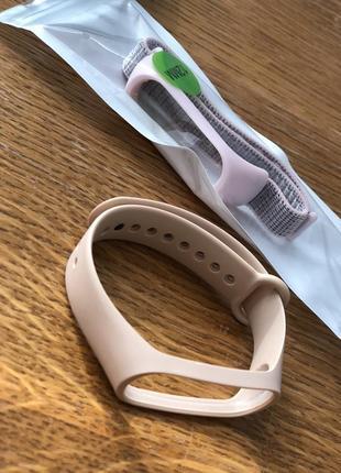 Браслеты ремешки на mi smart band 4