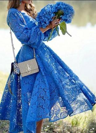 Платье миди кружево zimmermann