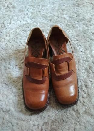 Женские кожаные туфли, лоферы,оксфорды, ботинки